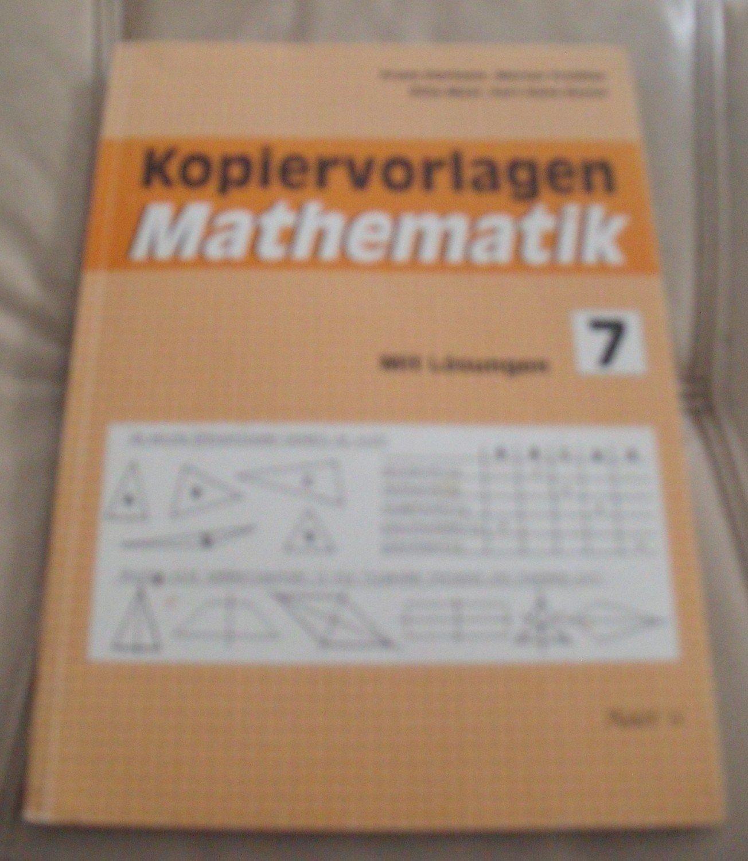 """Kopiervorlagen Mathematik"""" (Dürheim Franz Freissler) – Buch ..."""