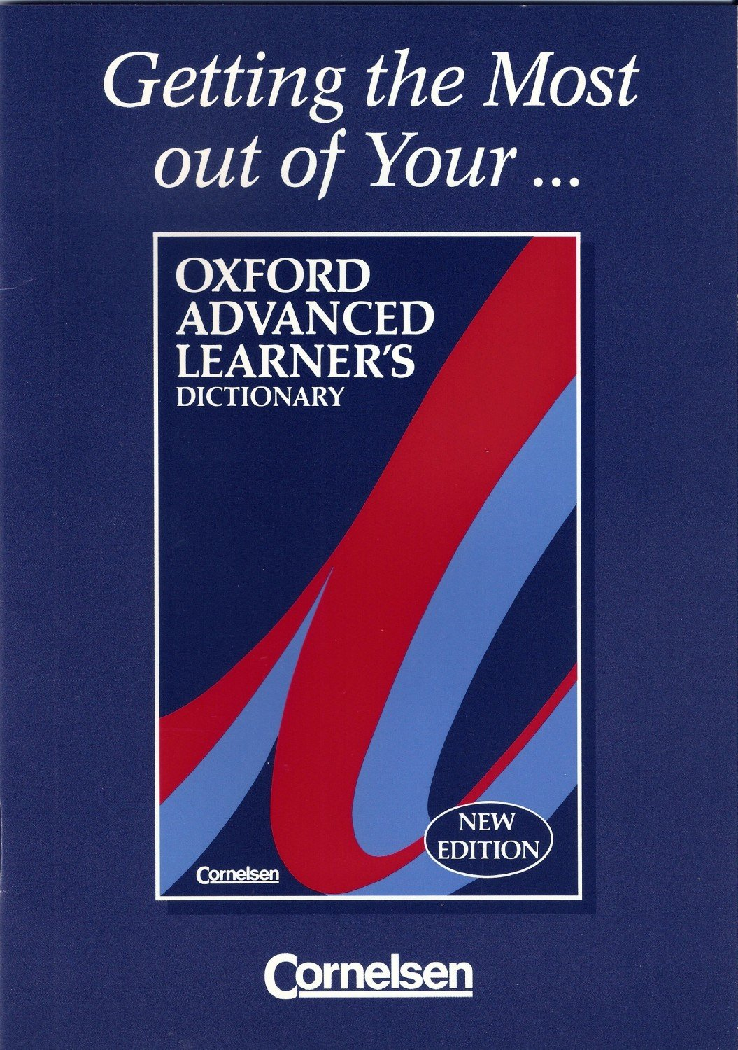 Getting the Most out of Your Oxford Advanced Learner\'s Dictionary ...