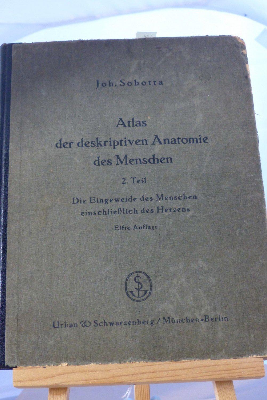 """Atlas der deskriptiven Anatomie des Menschen"""" – Bücher gebraucht ..."""