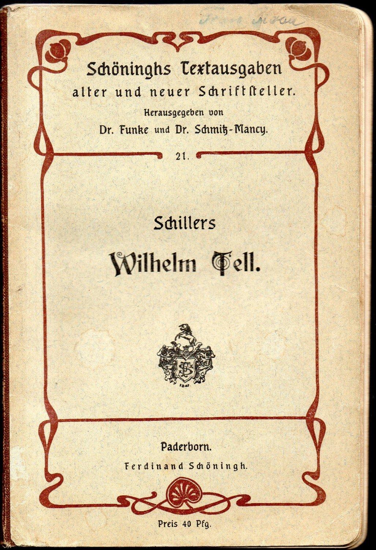 antiquarisches Buch – Friedrich von Schiller/A. Funke (Hrsg.)/