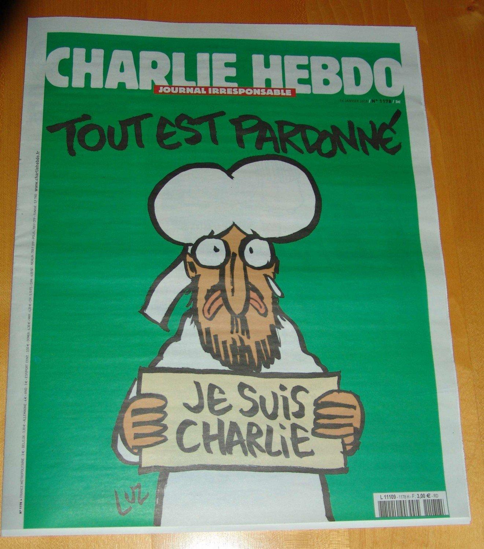 Charlie Hebdo Zeitung Satire Erste Auflage Vergriffen Je Suis Bucher Gebraucht Antiquarisch Neu Kaufen