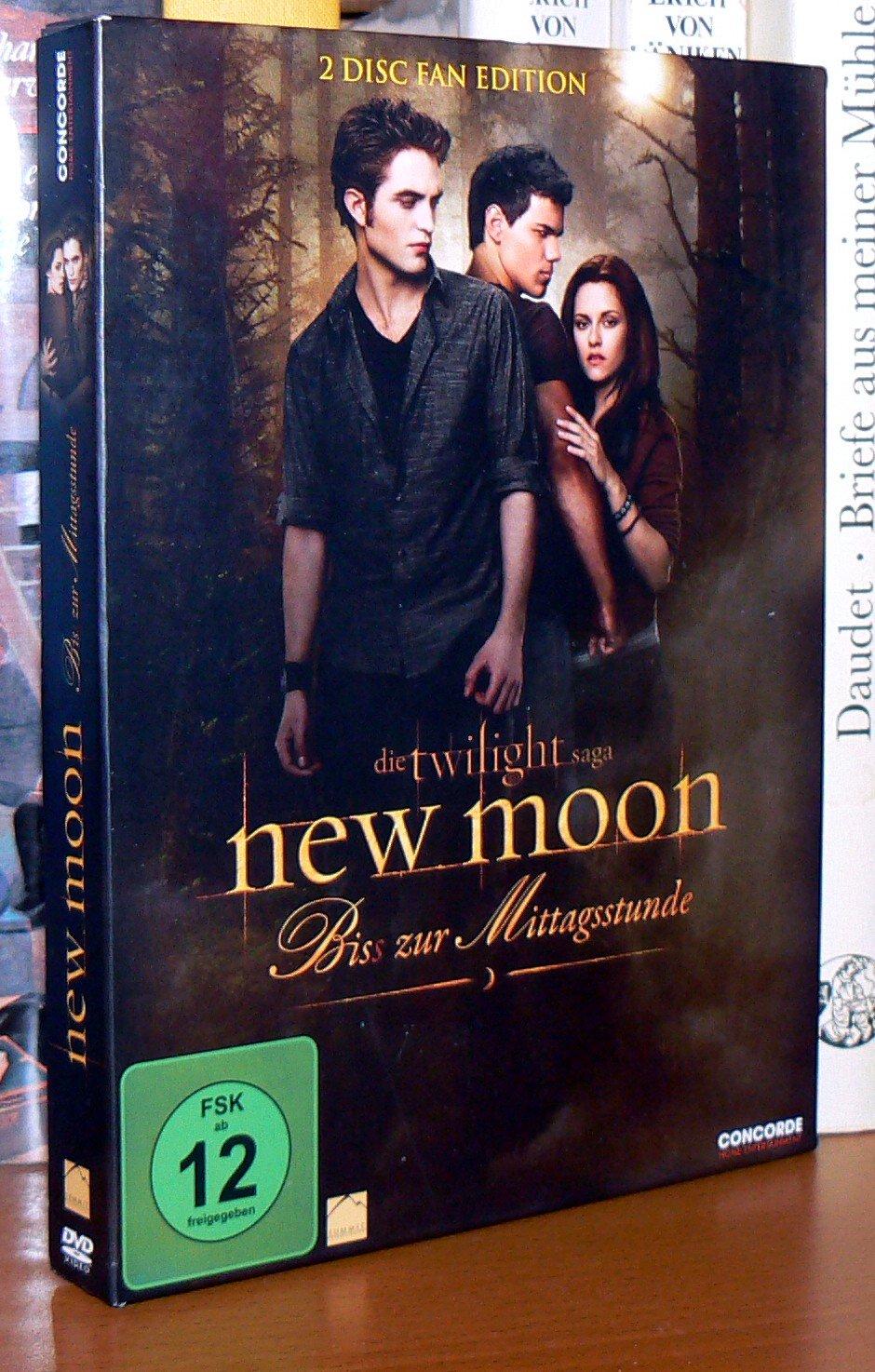 new moon biss zur mittagsstunde twilight saga teil 2 fan chris weitz film gebraucht. Black Bedroom Furniture Sets. Home Design Ideas