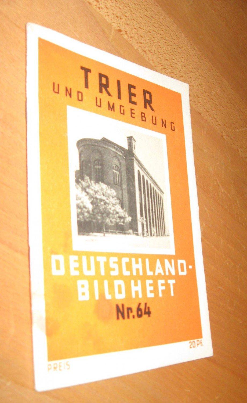 trier und umgebung deutschland bildheft nr bund deutscher verkehrsverb nde buch. Black Bedroom Furniture Sets. Home Design Ideas