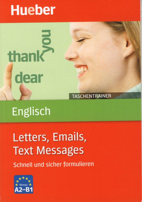 Taschentrainer Englisch Letters Emails Text Messages Schnell