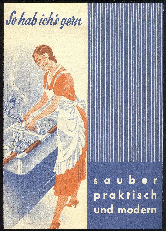 """So hab ich's gern   sauber praktisch und modern."""" Feuertonverkauf ..."""