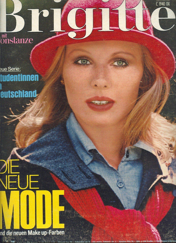 Brigitte Heft 18 Von 1975 Mit Marius Müller Westernhagen Bücher