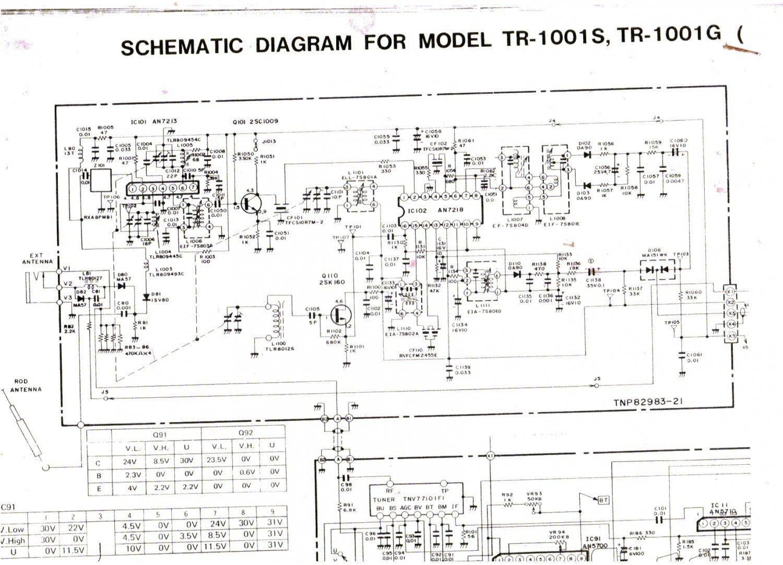 Panasonic Tr 1001s Taschenfernseher Schaltbild Schematic Diagram What Are Buch Gebraucht Kaufen A01o6fg501zzk