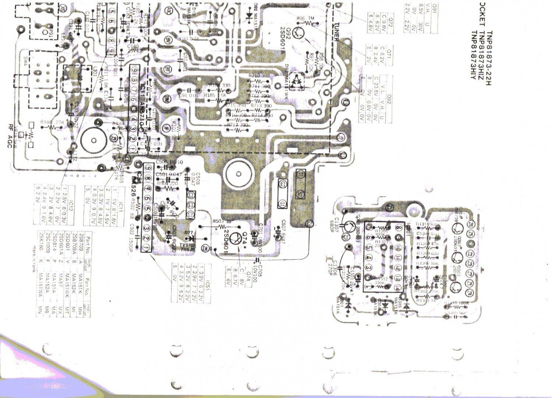 Panasonic Tr 1001s Taschenfernseher Schaltbild Schematic Diagram Buch Gebraucht Kaufen A01o6fg501zzk