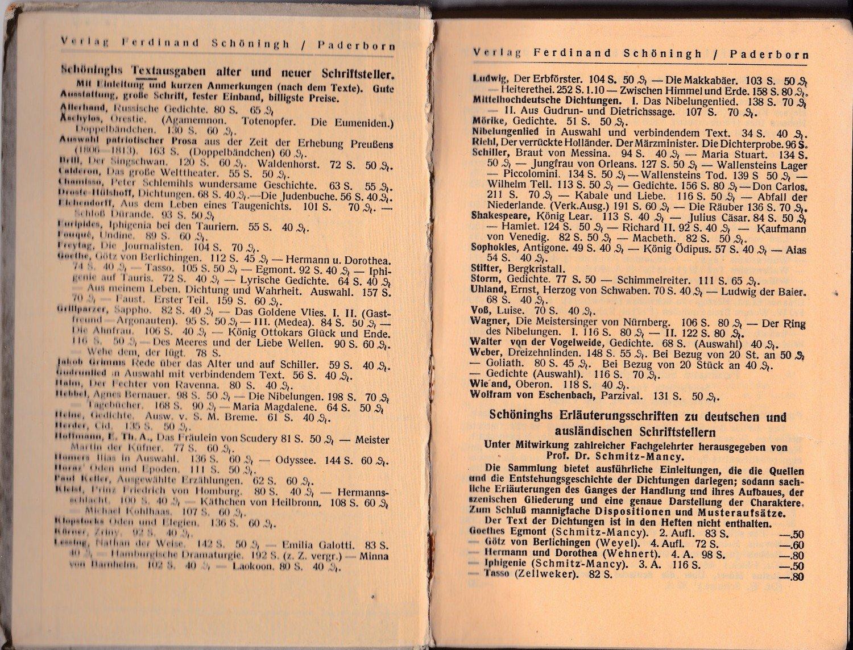 ... Schillers Wilhelm gebrauchtes Buch – Funke, Dr. A. Hsgr. –  Schillers Wilhelm