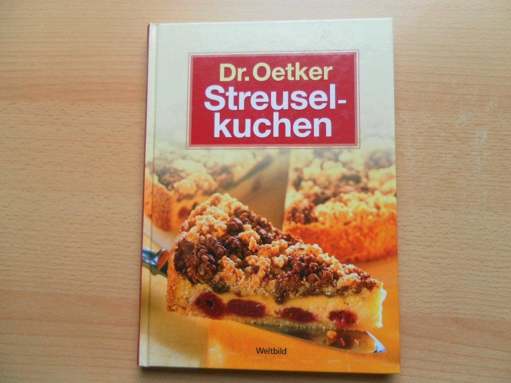 Streuselkuchen Dr Oetker Buch Gebraucht Kaufen A01ss1l501zz7