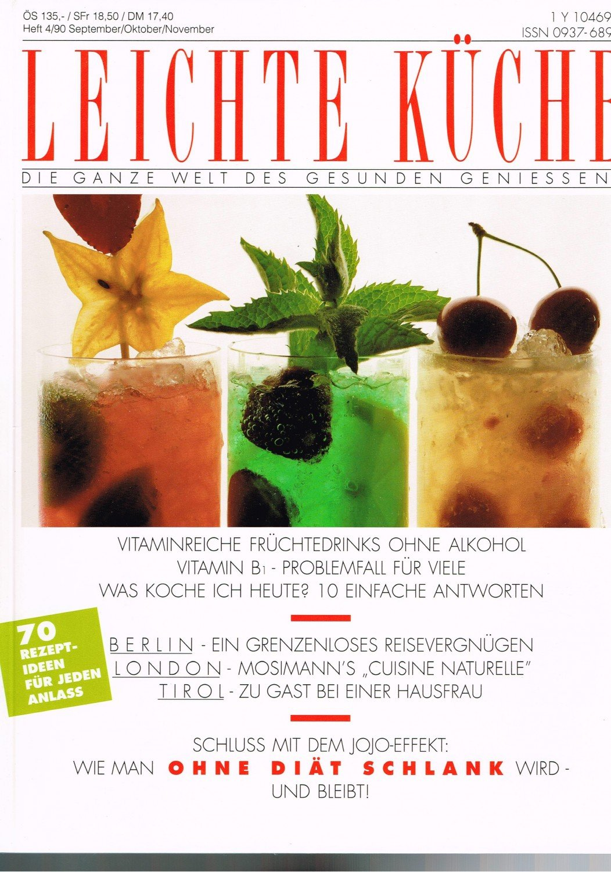 "Leichte Küche 4/90 - Berlin, London, Tirol"" (AMC) – Buch gebraucht ..."