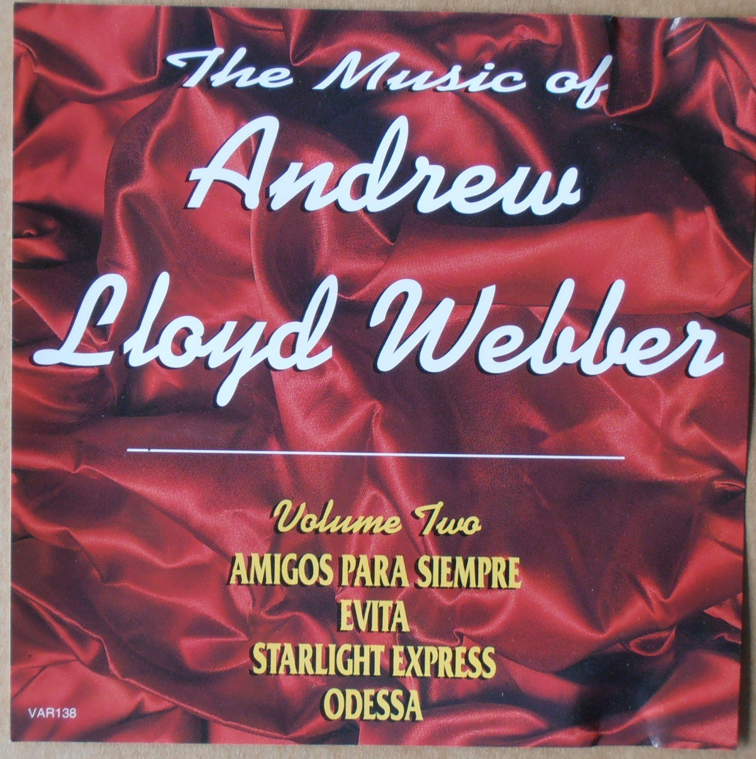 the music of andrew lloyd webber On the surface andrew lloyd webber is a man who really does seem to have it all in a career spanning six decades the 69-year-old, who.