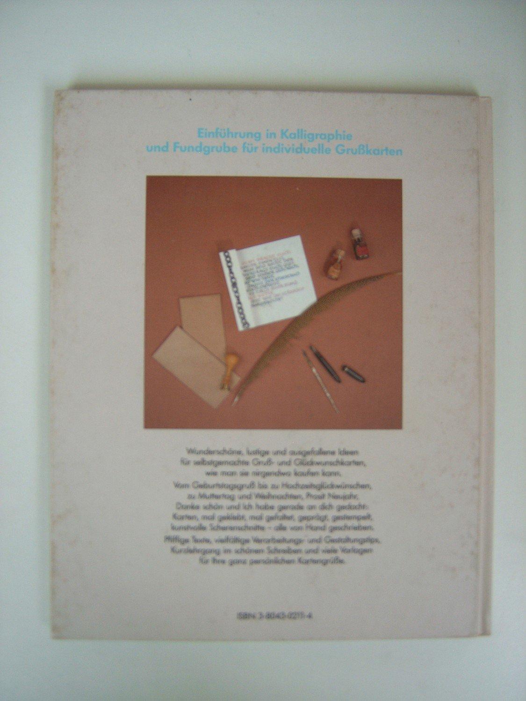Gruß- und Glückwunschkarten Kalligraphieren - Schriftmuster und ...
