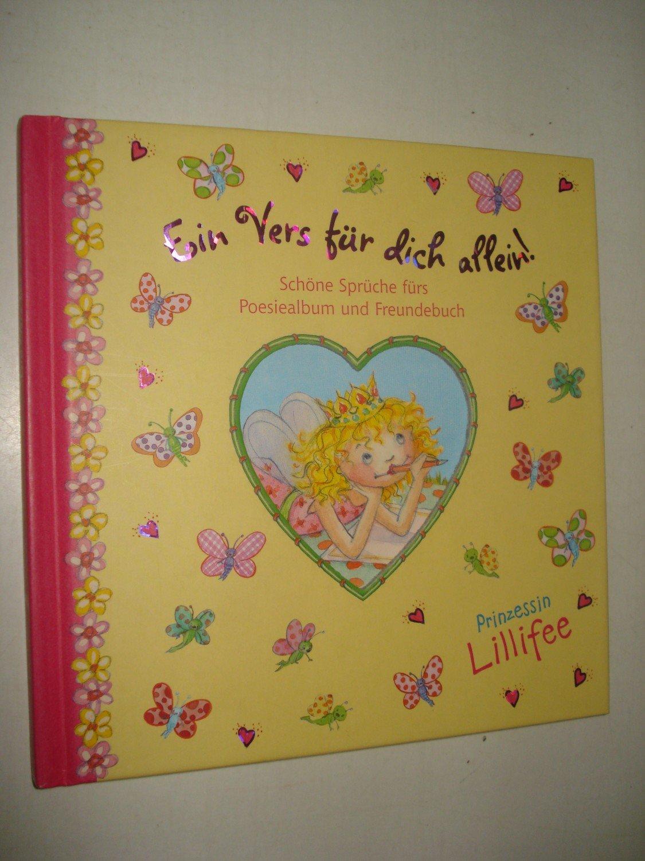 Prinzessin Lillifee Ein Vers Für Dich Allein Schöne