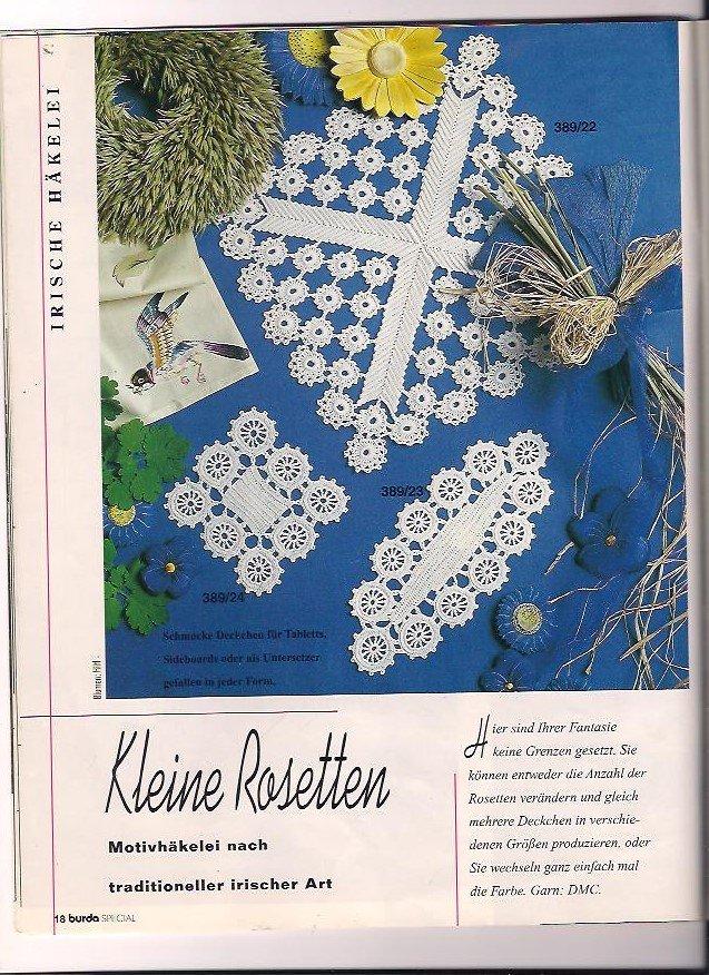 """burda special Spitzenhäkeln Alles zum Selbermachen E 389 59"""" – Buch ..."""