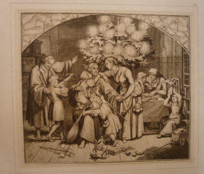 Luthers Winterfreuden Im Kreise Seiner Familie König Gustav