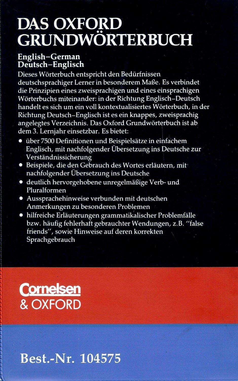 """Das Oxford Grundwörterbuch"""" (Pof F M) – Buch gebraucht kaufen ..."""