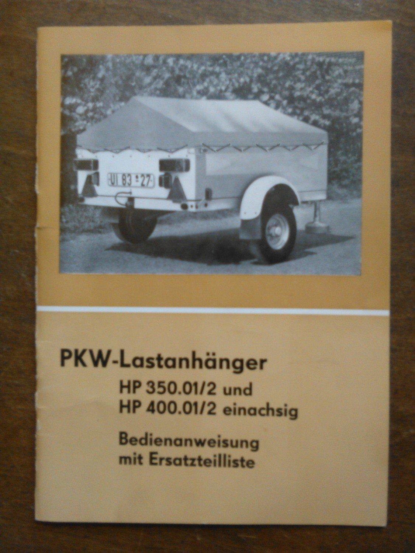 pkw lastanh nger hp 350 kombinat fortschritt. Black Bedroom Furniture Sets. Home Design Ideas
