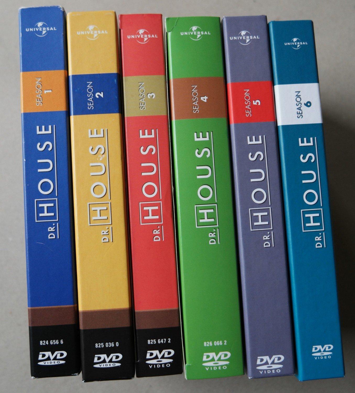dr house staffeln 1 2 3 4 5 6 film gebraucht kaufen. Black Bedroom Furniture Sets. Home Design Ideas