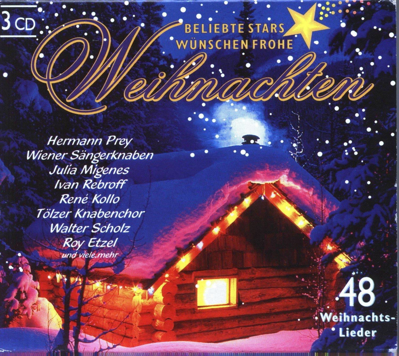 Frohe Weihnachten Cd.Beliebte Stars Wunschen Frohe Weihnachten