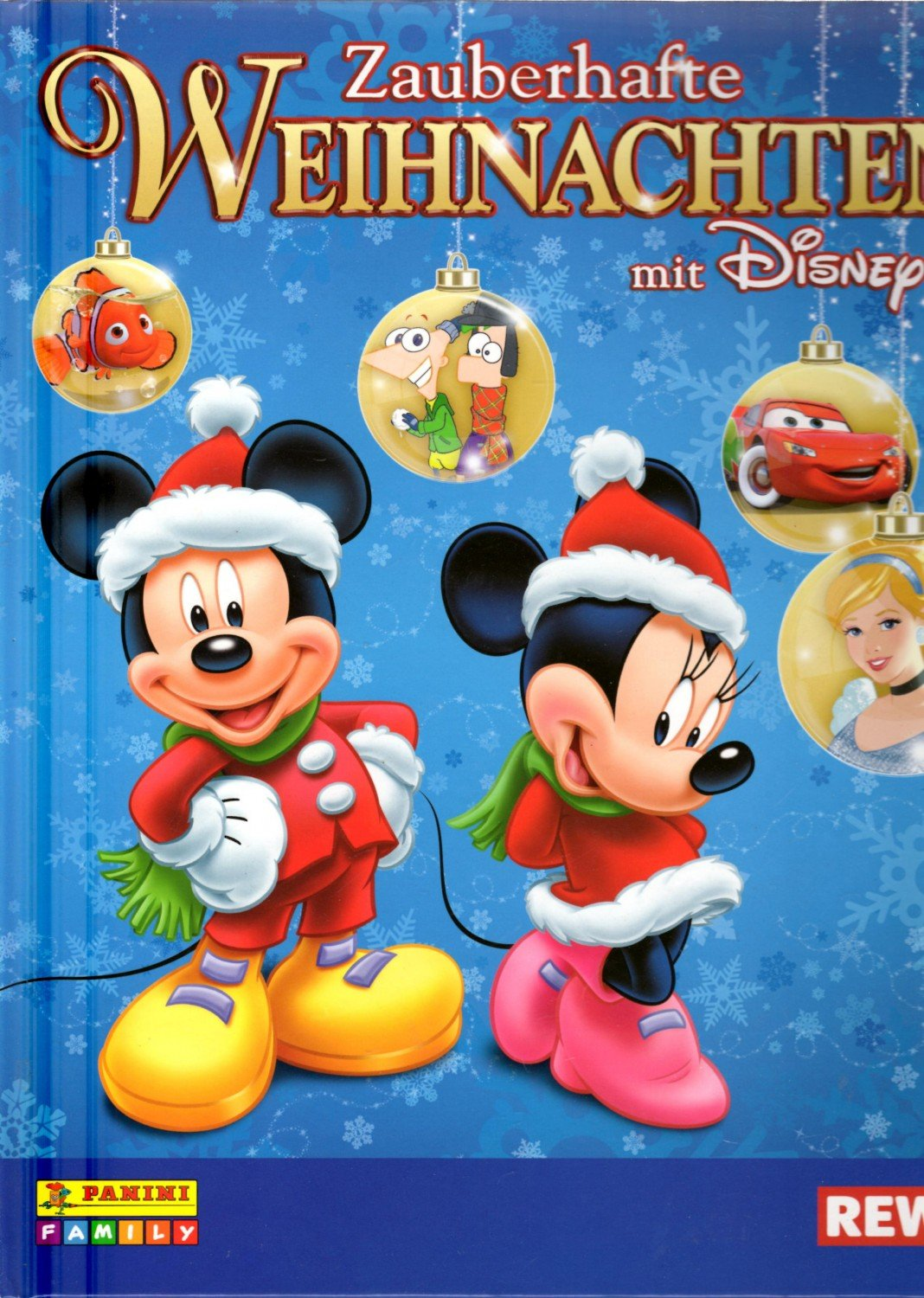 rewe zauberhafte weihnachten mit disney sammelalbum. Black Bedroom Furniture Sets. Home Design Ideas