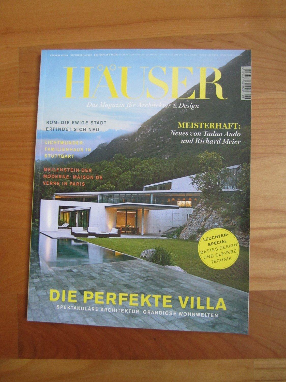 """Häuser. Das Magazin für Architektur & Design, Heft 6, 2013"""" – Buch ..."""