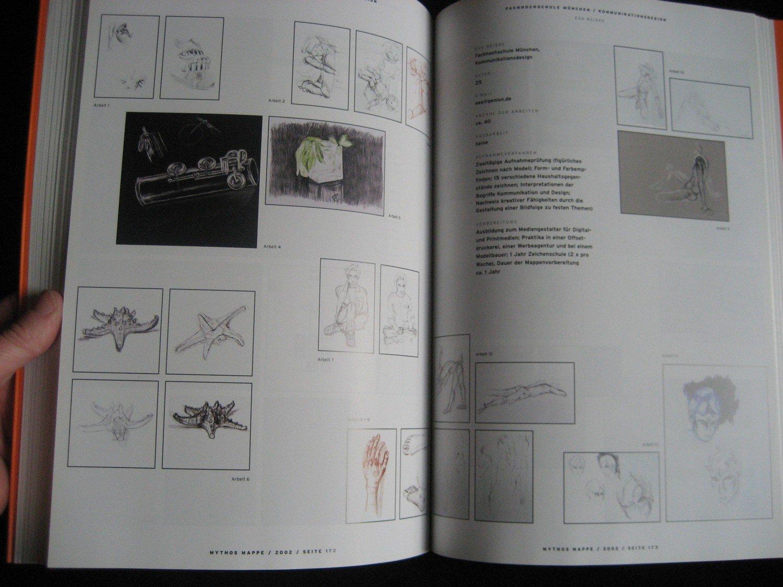 Mythos Mappe Designstudenten Zeigen Ihre Bewerbungsmappen Buch
