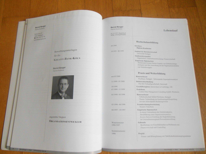 Die Perfekte Bewerbungsmappe Für Hochschulabsolventen Hesse Jürgen