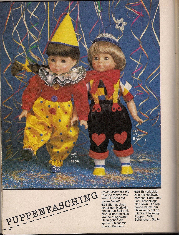 """burda Puppenkleider Bestellnummer E 699 über 70 Modelle zum"""" – Buch ..."""