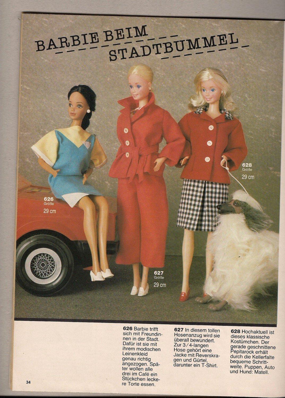 Burda Puppenkleider Bestellnummer E 699 über 70 Modelle Zum Buch