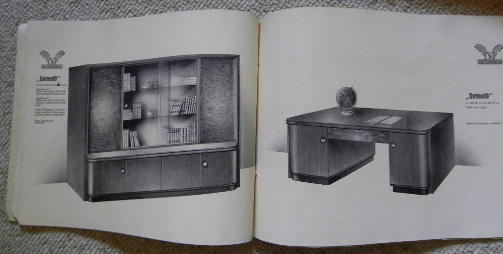 Niedersachsen Möbelkatalog Wohn Und Herrenzimmer 1939 Buch