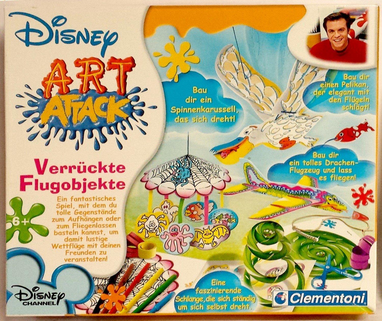 Verrückte Flugobjekte 2006 Disney Art Attack Clementoni