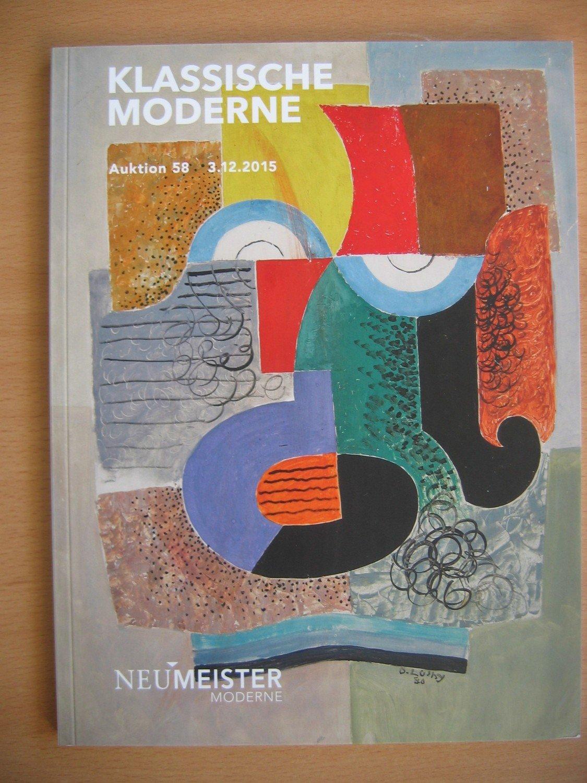 Klassische moderne auktion 58 2015 b cher gebraucht for Klassische moderne