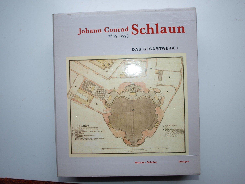 Gesamtwerk Architektur johann conrad schlaun 1695 1773 das gesamtwerk bücher gebraucht