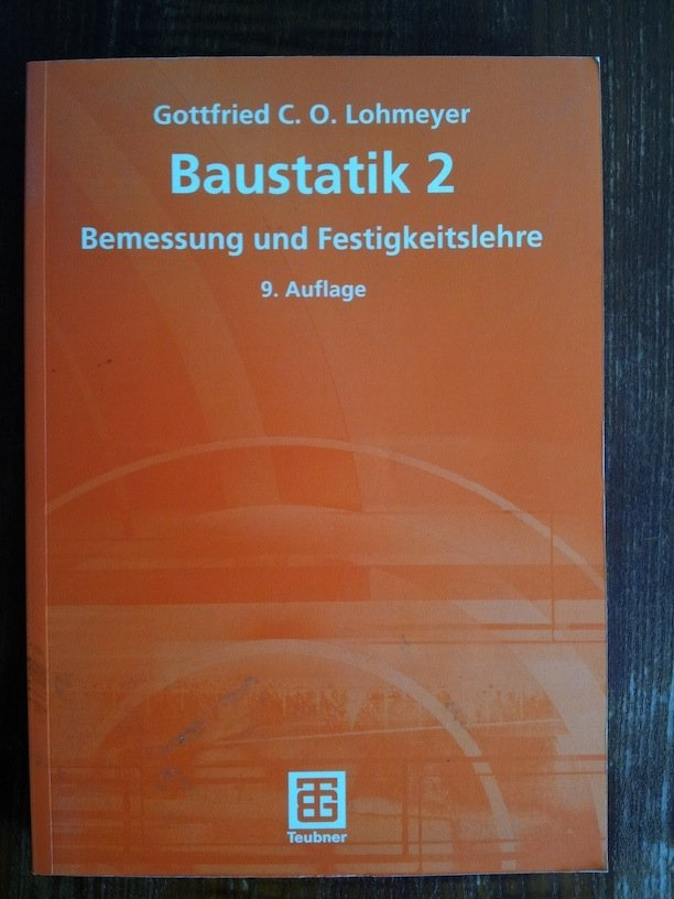 baustatik lohmeyer gottfried c o