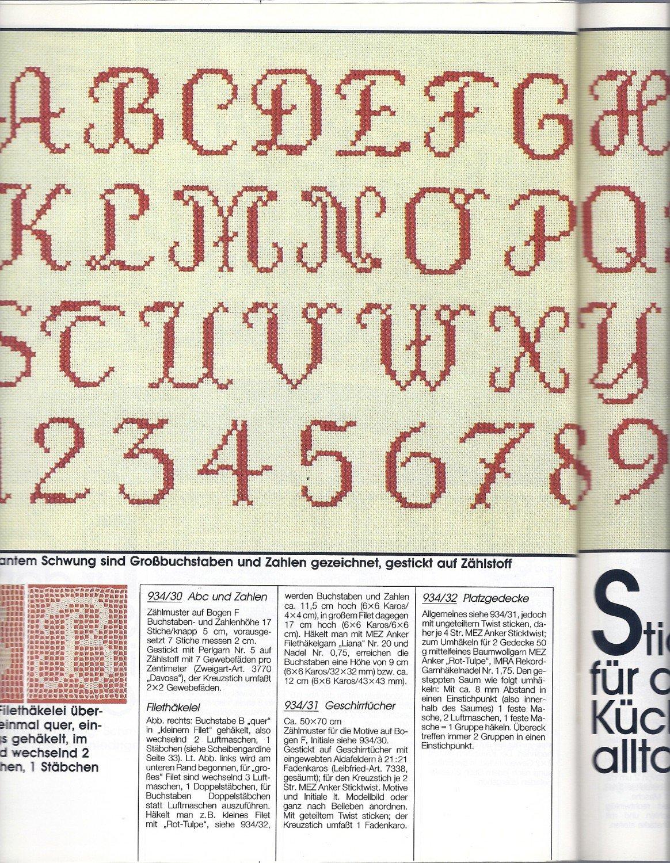 Modern Häkeln Buchstaben M Muster Adornment - Decke Stricken Muster ...