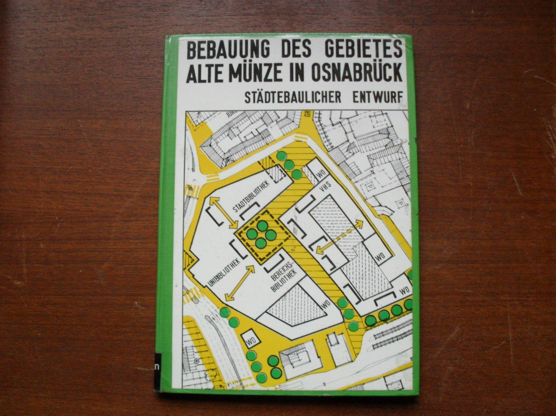 Bebauung Des Gebietes Alte Münze In Osnabrück Städtebaulicher