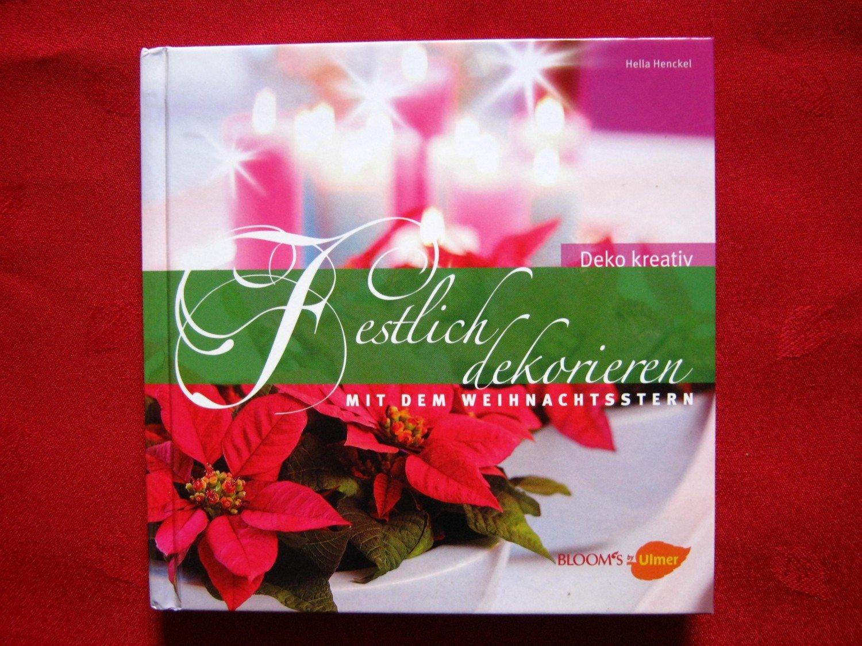 Isbn 9783800157549 festlich dekorieren mit dem - Weihnachtsstern dekorieren ...