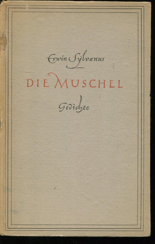 Die Muschel Gedichte Bücher Gebraucht Antiquarisch Neu