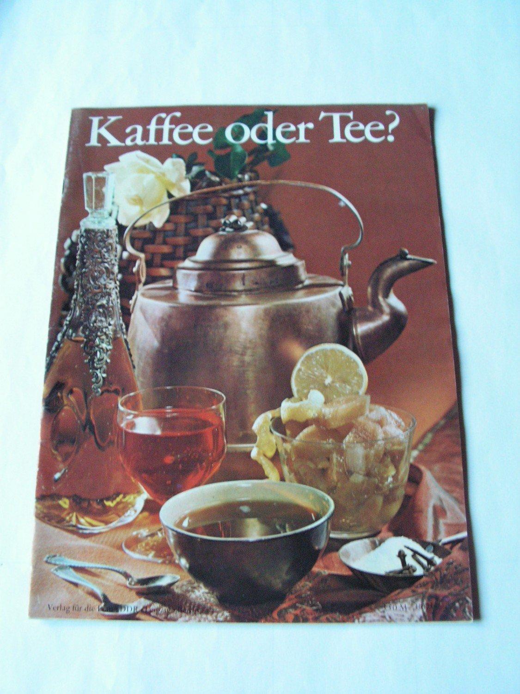 Kaffee Oder Tee Bücher Gebraucht Antiquarisch Neu Kaufen