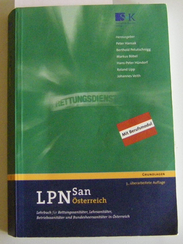 LPN-San Österreich - Lehrbuch für Rettungssanitäter ... | {Betriebssanitäter logo 95}