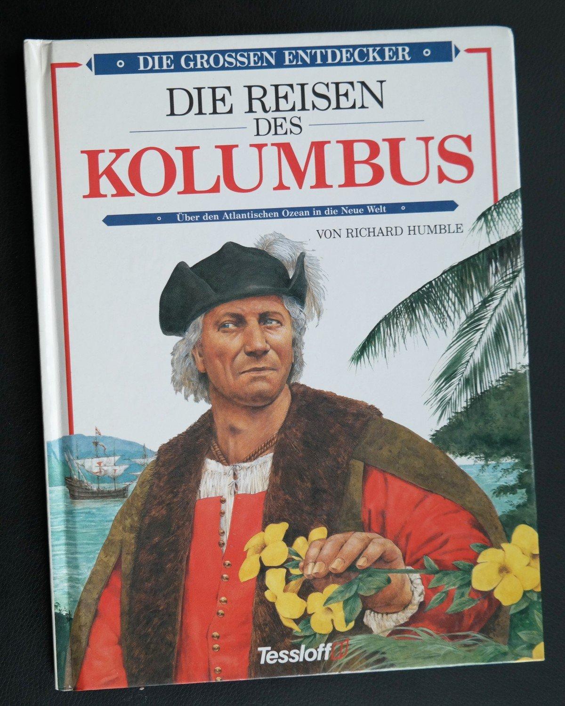 "Berühmt Die Reisen des Christoph Kolumbus"" (Richard Humble) – Buch #GZ_51"