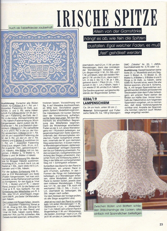 Anna Burda Spaß An Handarbeiten Heft 2 Februar 1986 Lehrgang