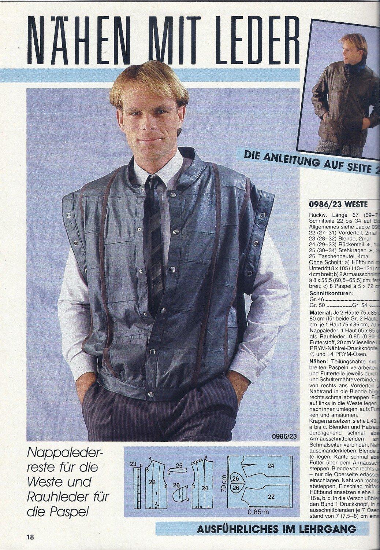 Anna burda Spaß an Handarbeiten Heft 9 September 1986 Lehrgang ...