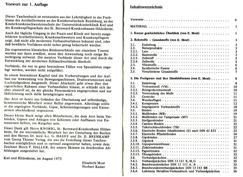 Norbert Kaiser verbandlehre ein leitfaden für arzthelferinnen krankenschwestern