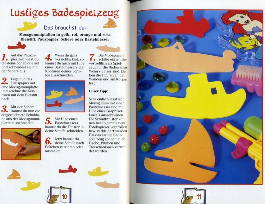 Kinder basteln mit Moosgummi ° mit Vorlage ° Mit Schritt-für-Schritt ...