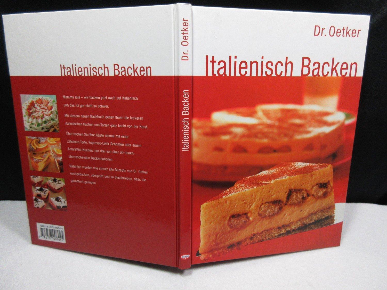 Italienisch Backen Oetker Buch Gebraucht Kaufen A02j9aei01zzv