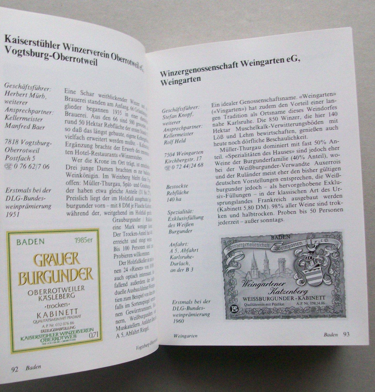 1dc13d68153b4 ... 5 gebrauchtes Buch – – Winzer, Weine, Große Preise Deutscher Weinführer  ...