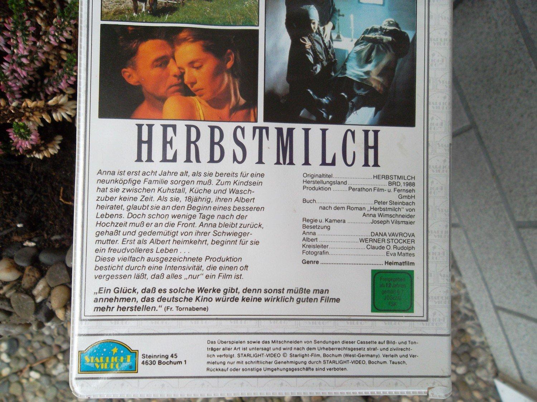 Herbstmilch Joseph Vilsmaier Film Gebraucht Kaufen A000l3hu11zzd