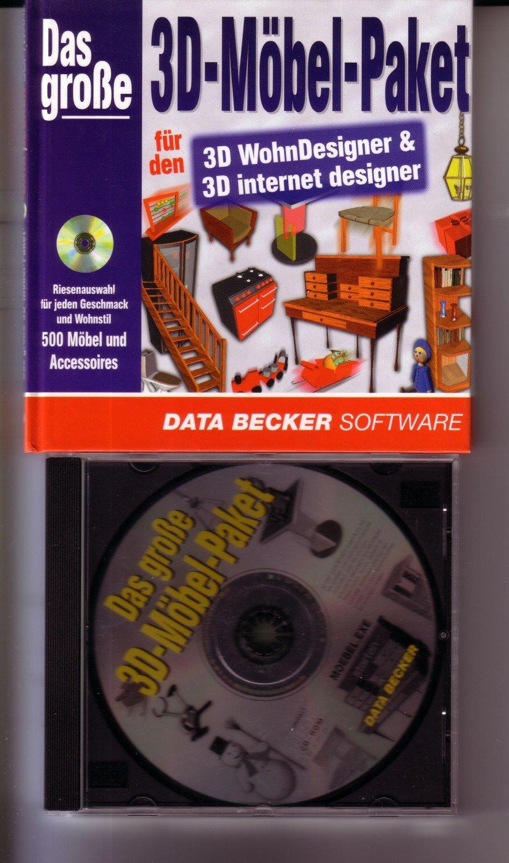 Das Grosse 3d Möbel Paket Data Becker Data Becker Buch